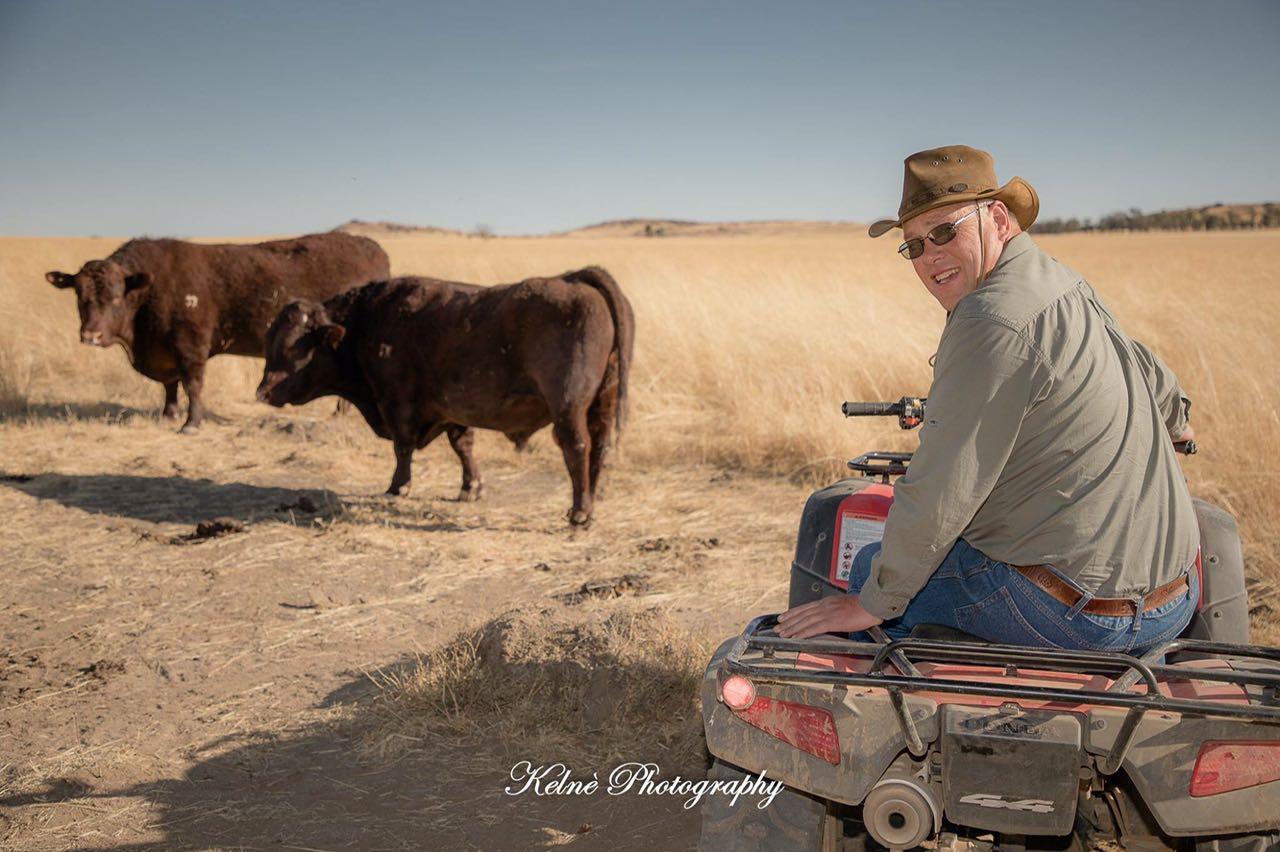Farmer Portrait photo shoot Carel Malherbe | Kelnè Photography