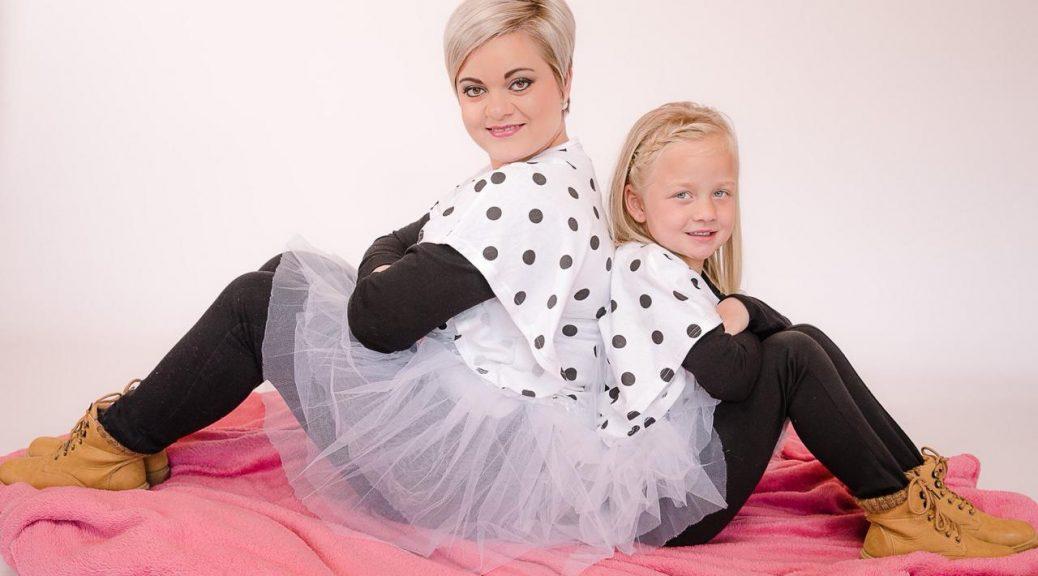 Mom & Daughter Photoshoot Zuné & Teagan Ferns