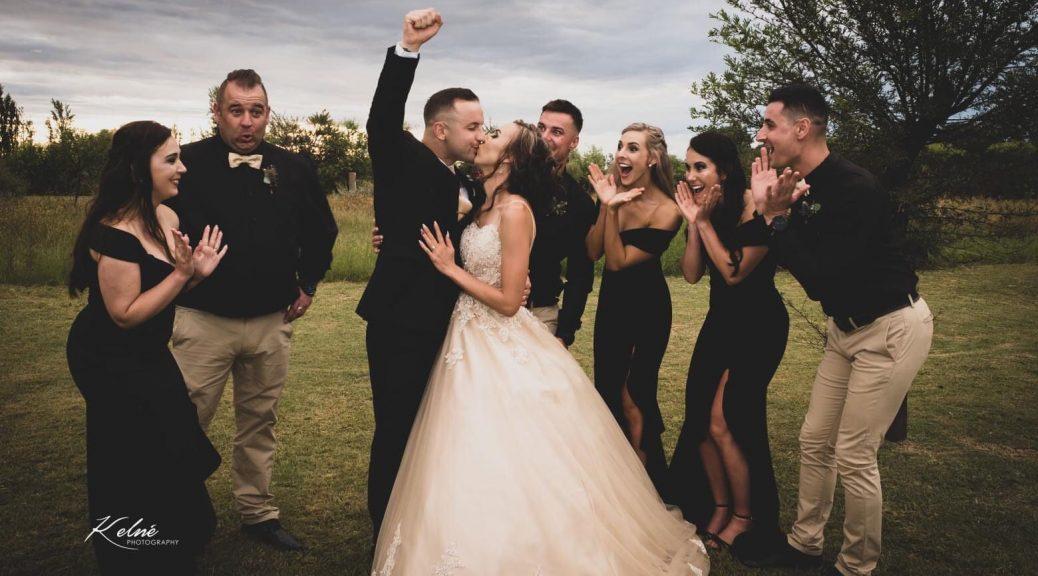 Wedding day photo shoot: Bern & Morné Sommer
