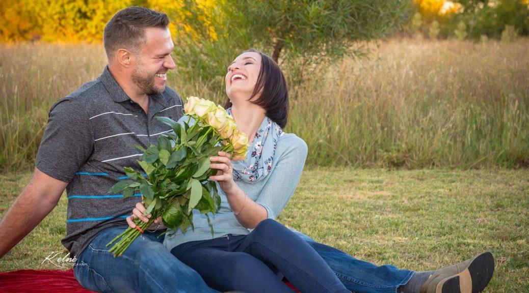Engagement Minette Zwart & Reghardt Cartens
